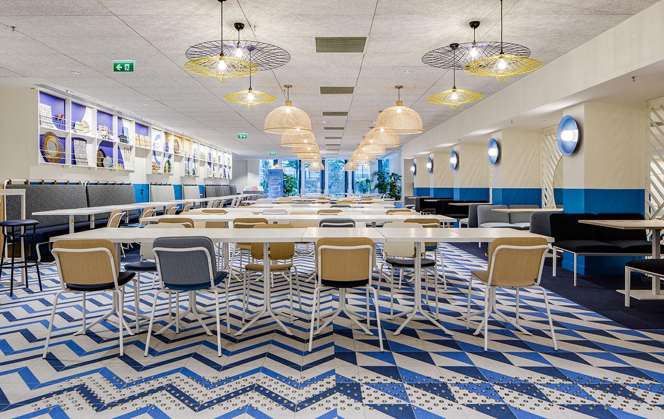 table restaurant cafeteria tour cb21
