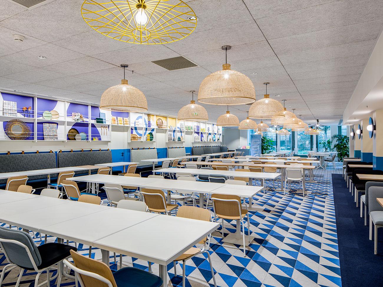 restaurant bureaux tour cb21 paris la defense