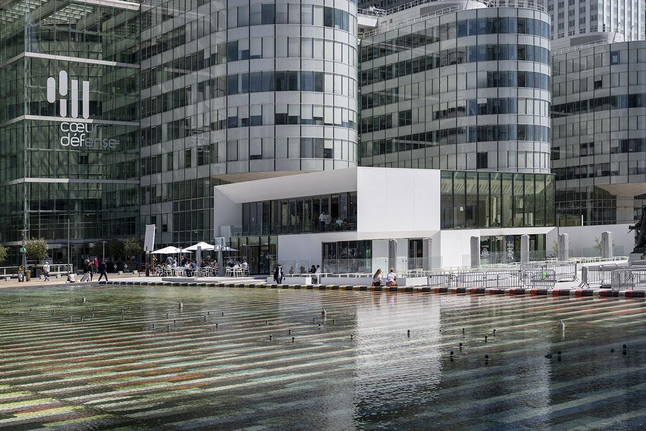 Table Square - immeuble de bureaux Tour CB21 Paris La Défense