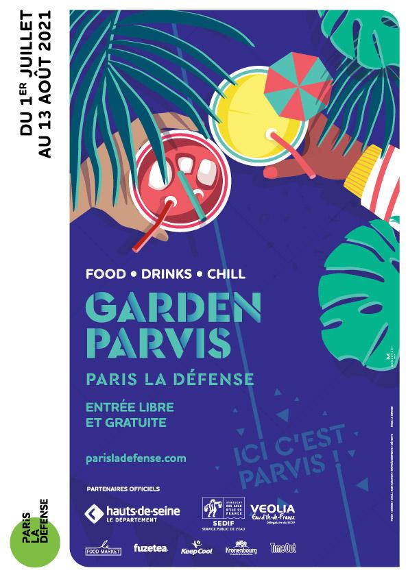 Garden Parvis - Paris La Défense