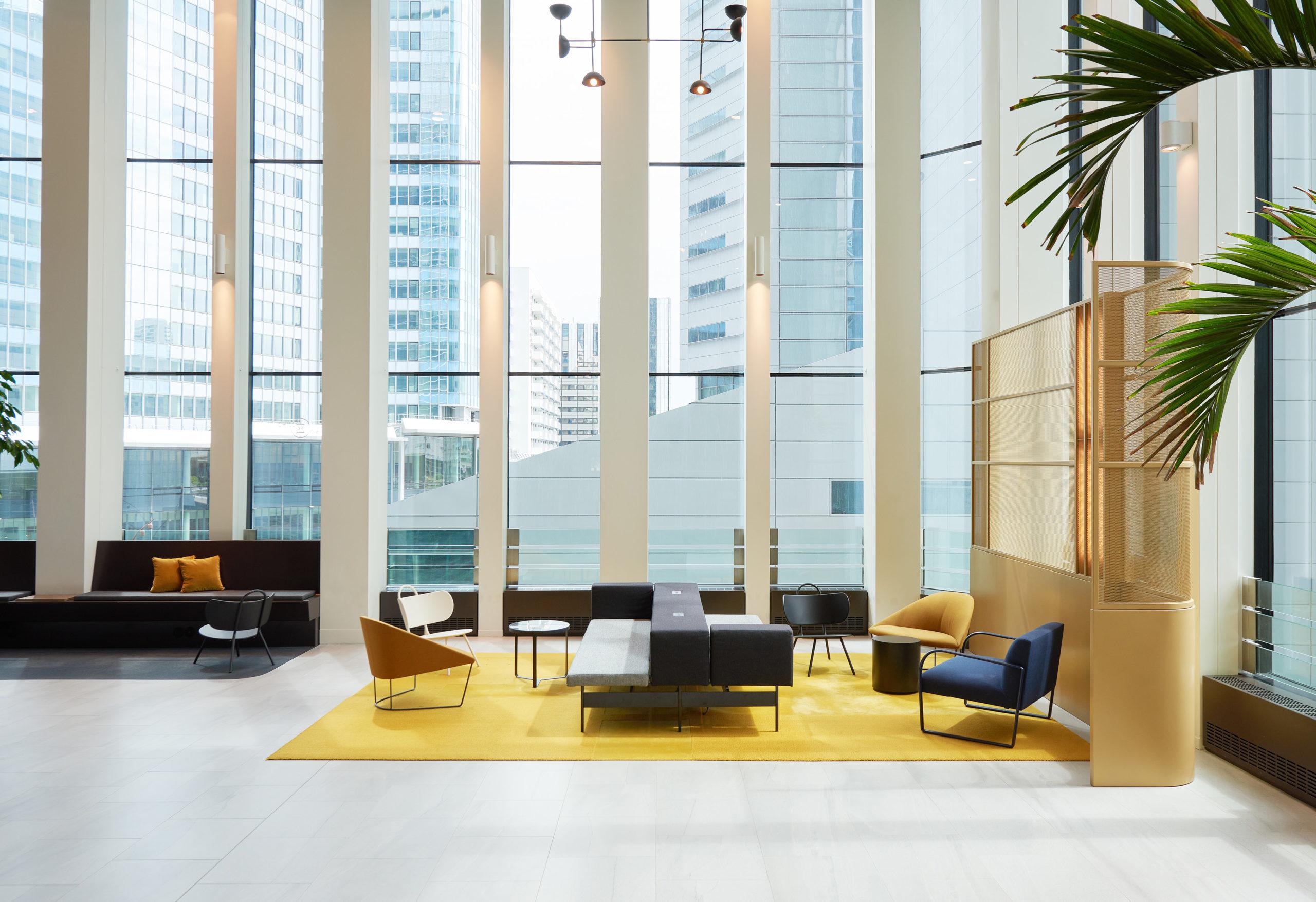 Chill & Wait, immeuble bureaux Tour CB21 Paris La Défense